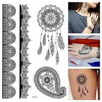 ATRAPASUEÑOS Flash De Tatuaje negro Cazador de sueños sexy ...