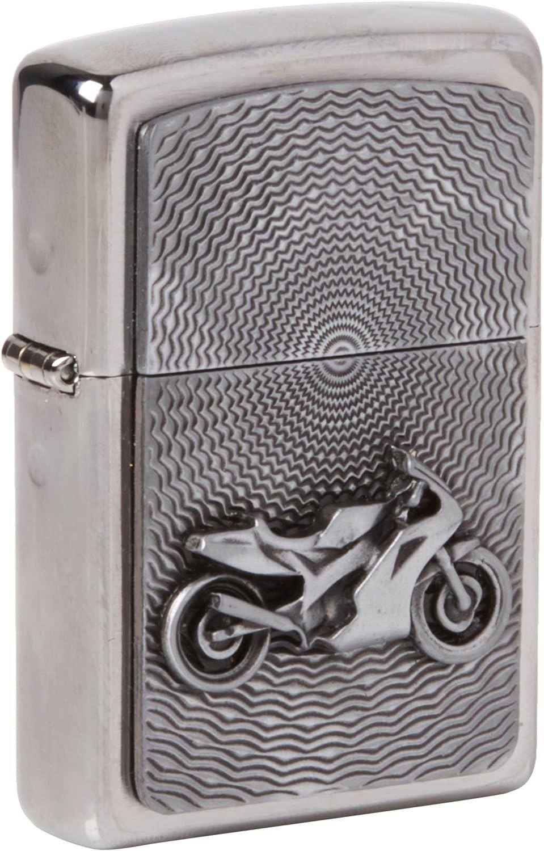 Zippo 200 Feuerzeug mit Motorrad