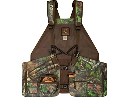 edb452a14d02b Amazon.com: Ol' Tom Men's Time & Motion Easy Rider Vest Mossy Oak ...
