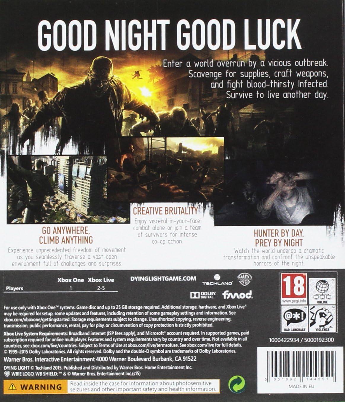 Dying Light Be the Zombie Edition [Importación Inglesa]: Amazon.es ...