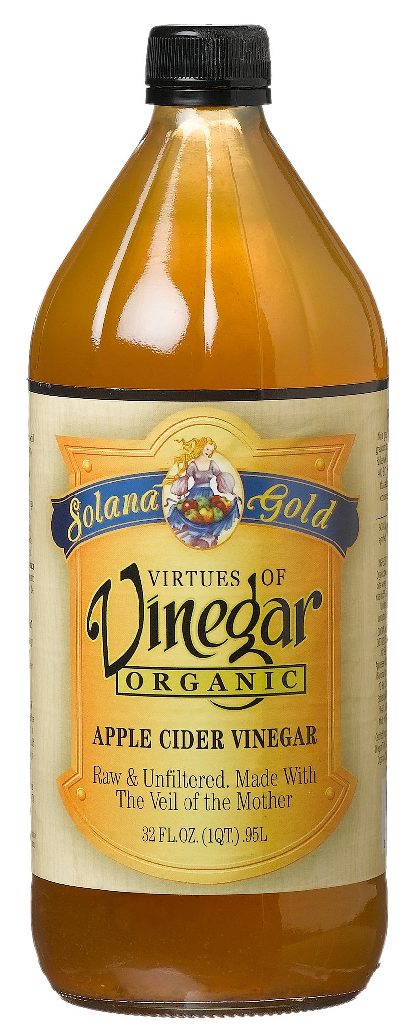 Solana Gold Organics Apple Cdr Vngr -- 12x32OZ