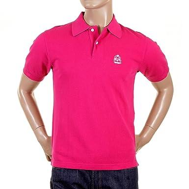 1f10d4338e26 Evisu Dark Pink Polo Shirt EVIS0718 at Amazon Men s Clothing store