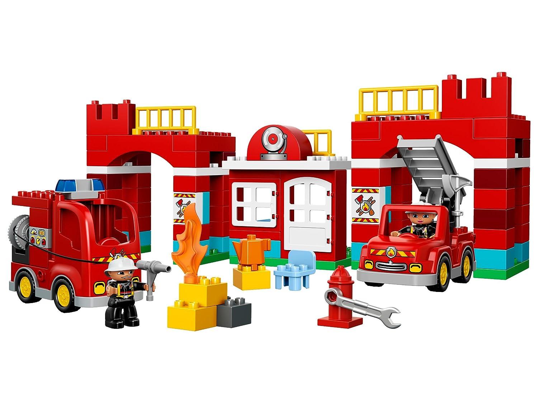 Lego Duplo Feuerwehrstation - Lego Duplo Feuerwehr-Hauptquartier