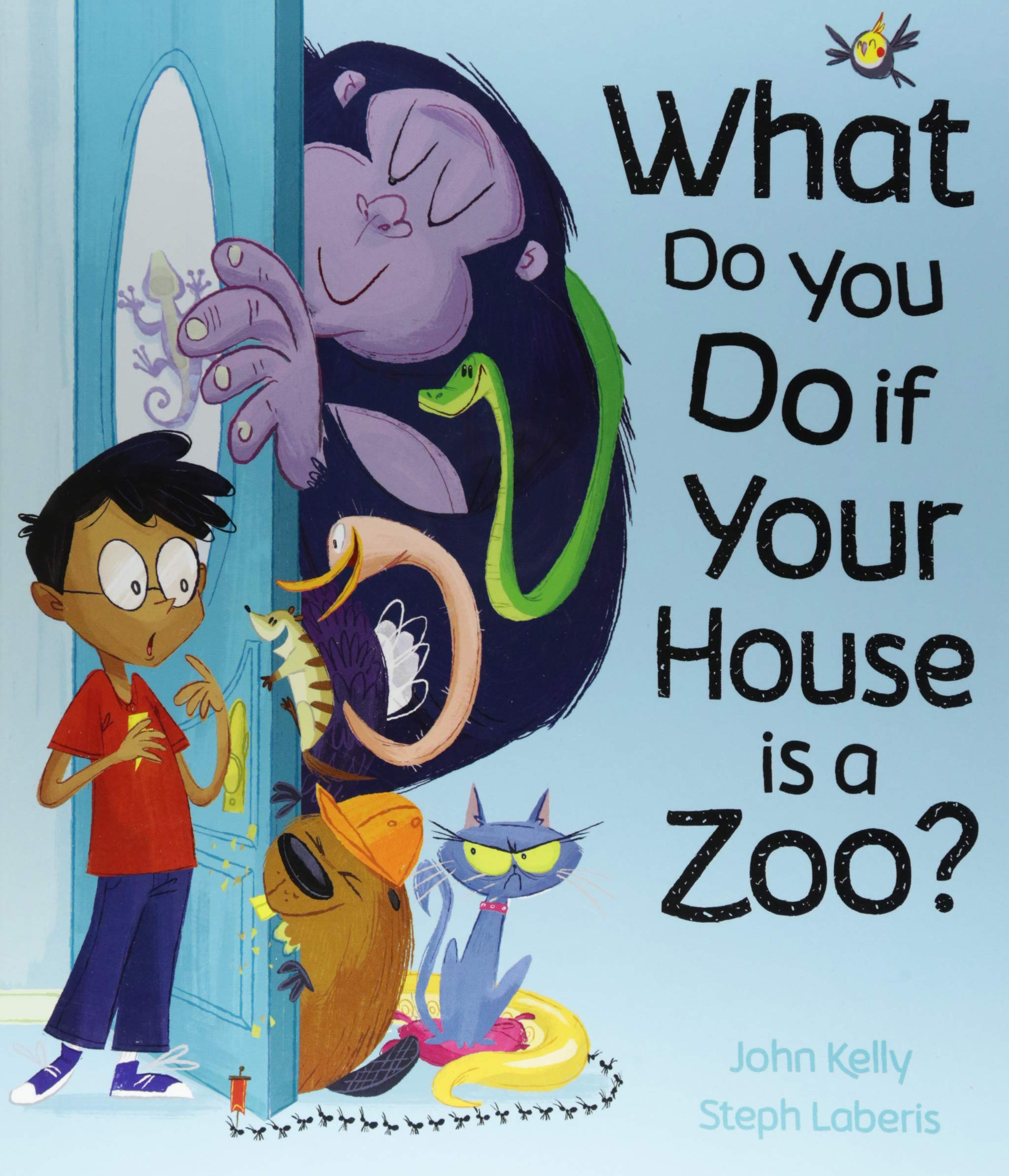 Image result for What do you do if your house is a zoo?""