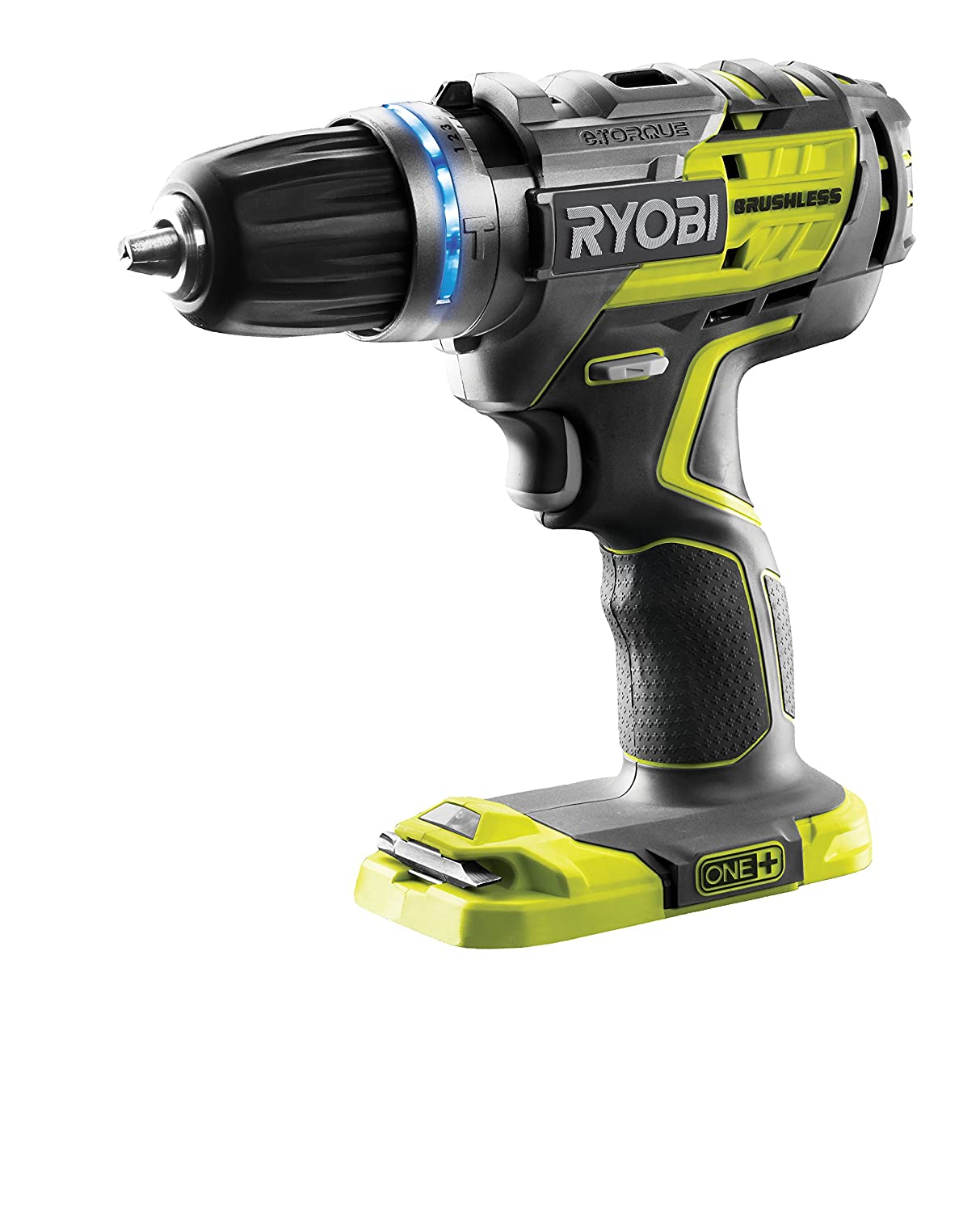 Ryobi R18PDBL-0 Perceuse à Percussion Électrique sans fil 18 volts Mandrin Autoserrant