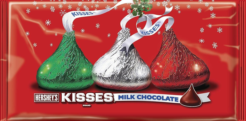 Amazon.com : KISSES Chocolates, Gluten-Free Solid Milk Chocolate ...
