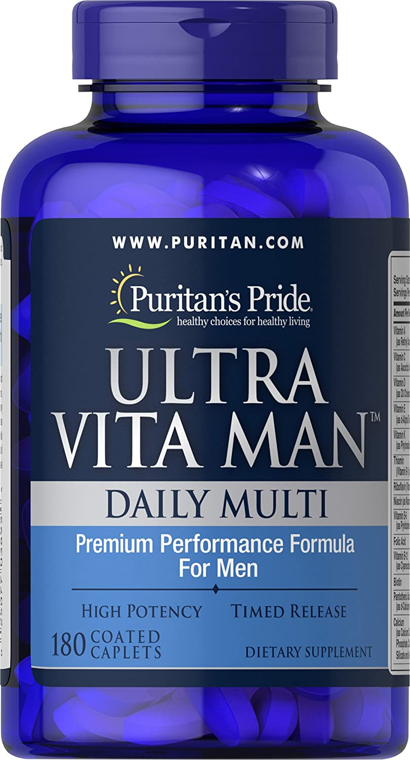 Puritans Pride Ultra Vita Man Time Release