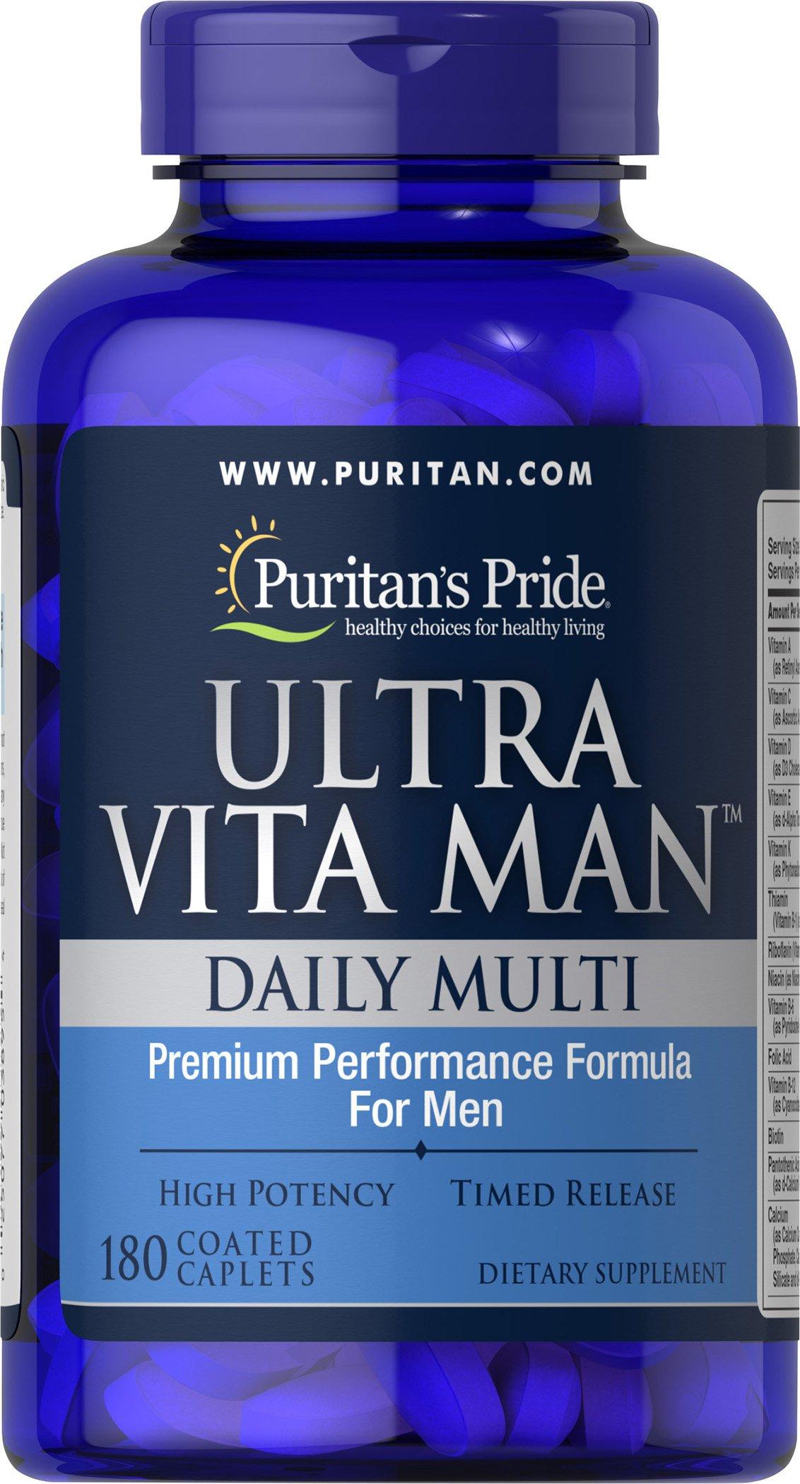 Puritans Pride Ultra Vita Man Time Release