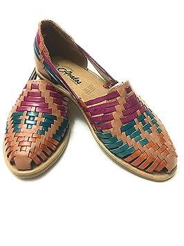 dafff604e7fa9 Sandalias de piel Para Mujer. Huarache Sandalias. mexicano sandalias ...