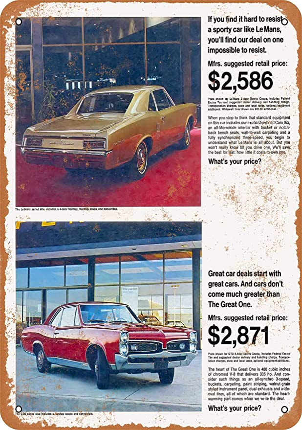 1967 Pontiac LeMans We Think of Everything Vintage Print Ad