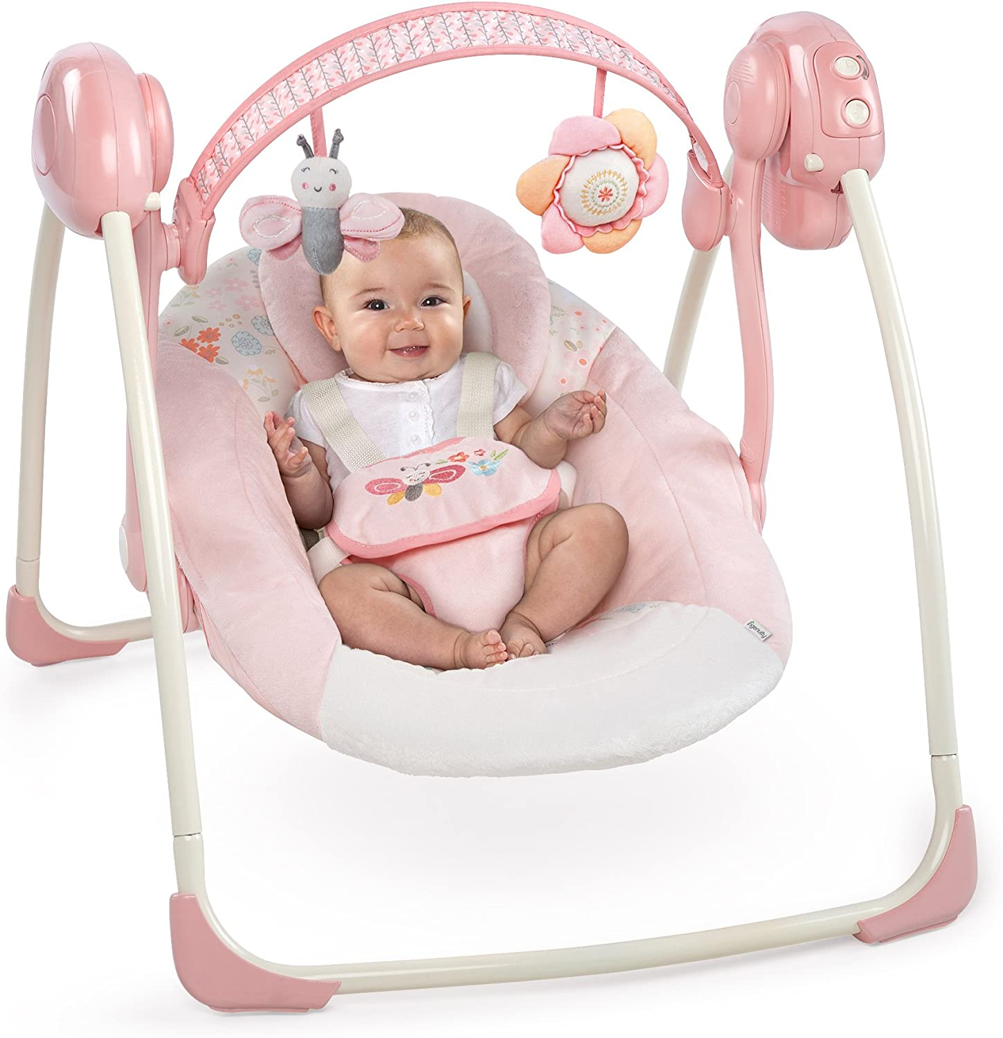 Felicity Floral Ingenuity Bright Starts Soothe N Delight Portable Swing