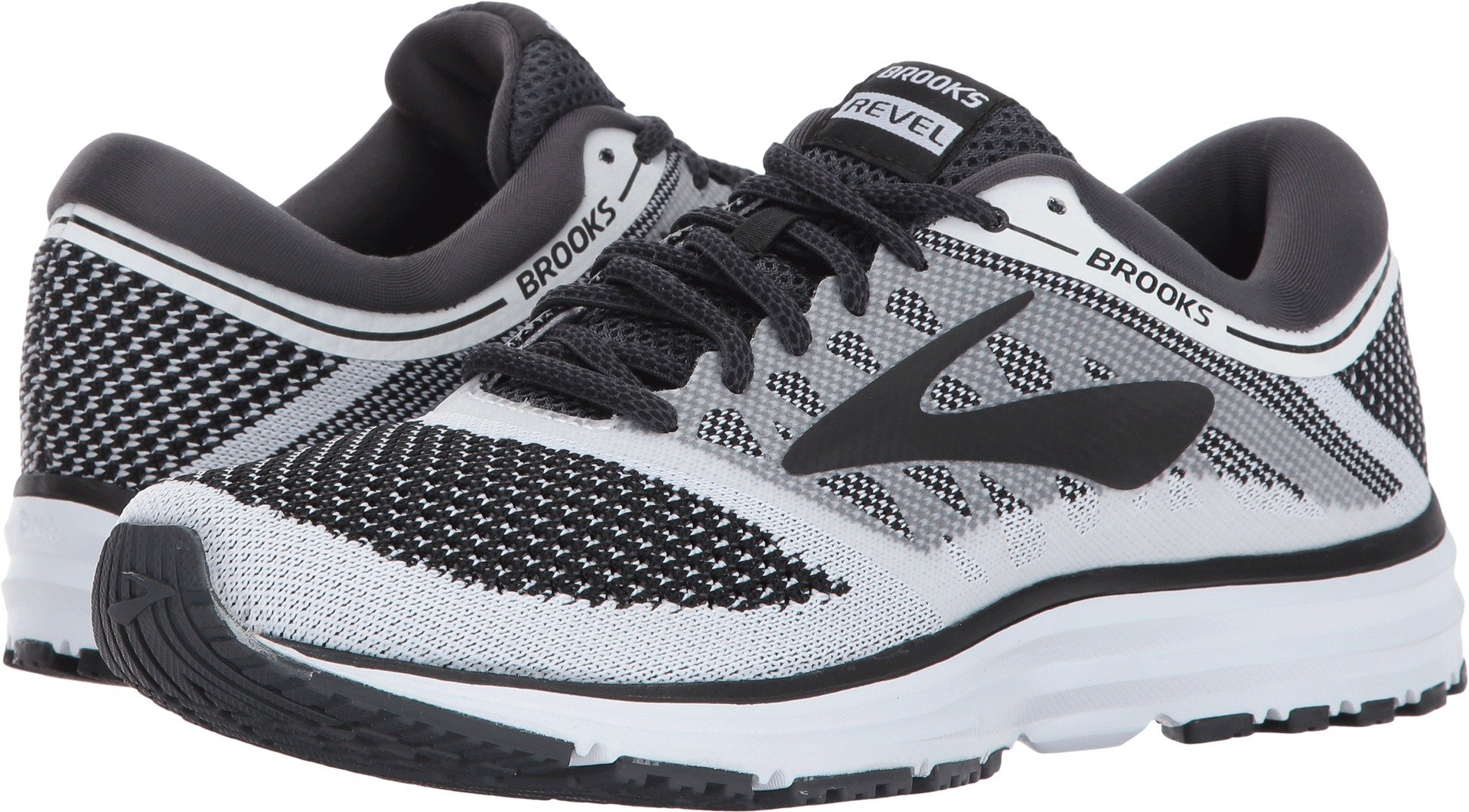Brooks Women's Revel White/Anthracite/Black Athletic Shoe