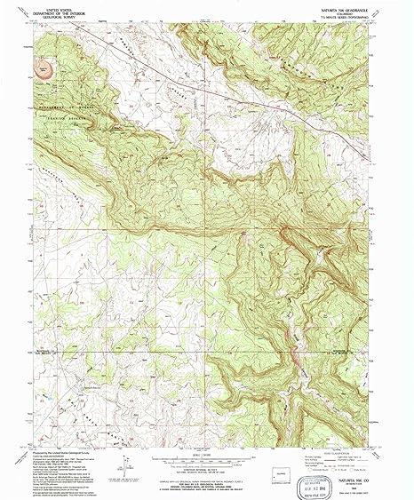 Nw Colorado Map.Amazon Com Yellowmaps Naturita Nw Co Topo Map 1 24000 Scale 7 5
