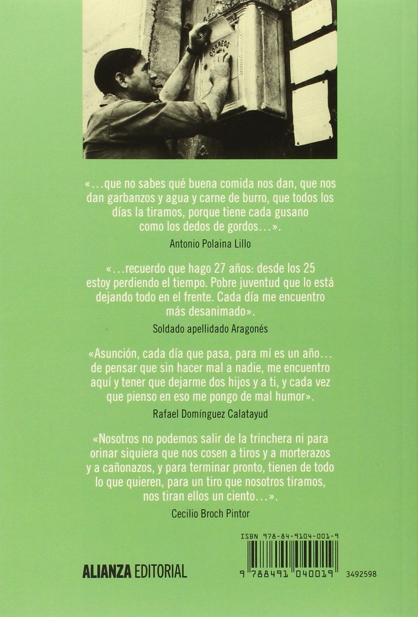 Voces de la trinchera: Cartas de combatientes republicanos en la Guerra Civil española Alianza Ensayo: Amazon.es: Matthews, James: Libros