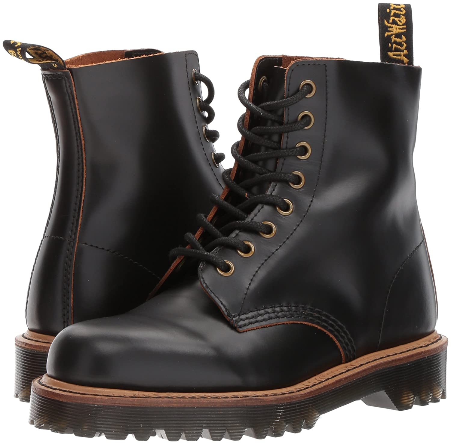 Dr. Martens Women's Pascal II Fashion UK Boot B01MZ4XFJI 8 Medium UK Fashion (10 US)|Black Vintage Smooth 93bdc7