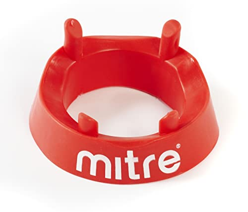 Mitre Rugby Kicking Tee - Red, One Size