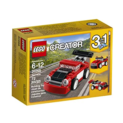LEGO Creator Red Racer 31055 Building Kit: Toys & Games