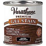 Varathane 349560 Premium Gel Stain, Half Pint, Dark Walnut