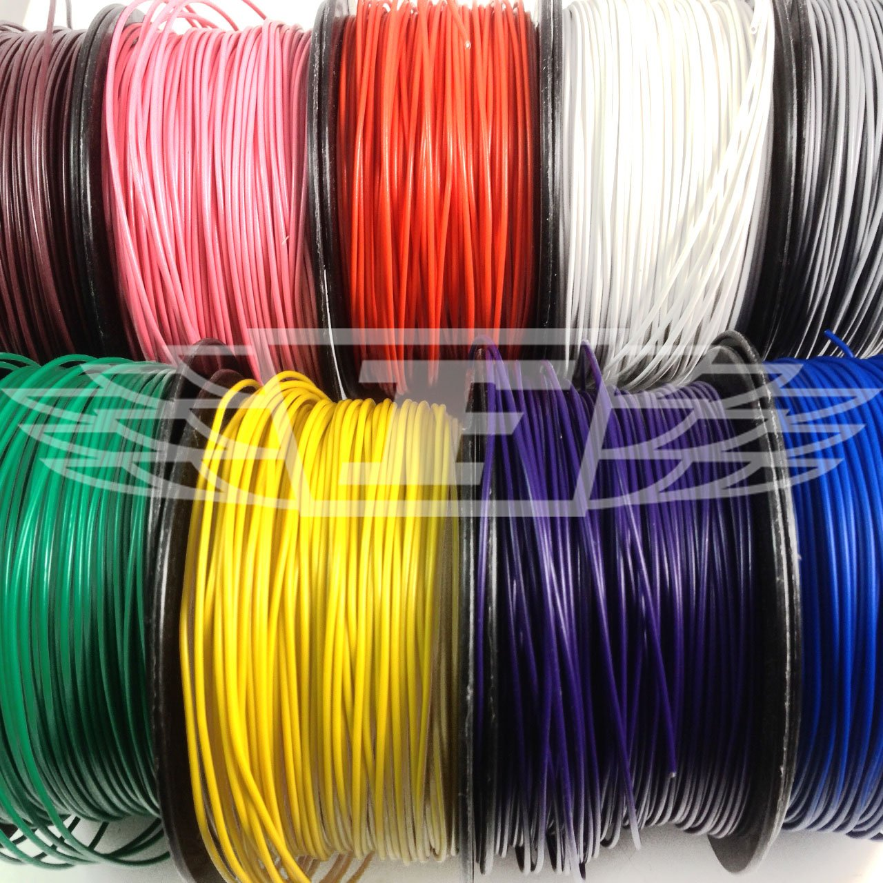 RED 20 METERS, SOLID CORE HOOKUP WIRE 1/0.6mm² 22AWG BREADBOARD JUMPERS SOLID CORE HOOKUP WIRE 1/0.6mm² 22AWG BREADBOARD JUMPERS Falcon Workshop