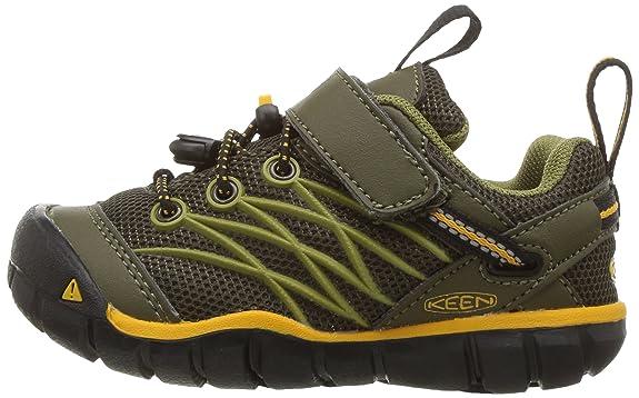 Amazon | Keen ユニセックス・キッズ CHANDLER CNX カラー: グリーン | アウトドア