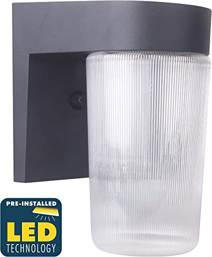 75W CORAMDEO Commercial and Residential Outdoor LED Jelly Jar Style Light