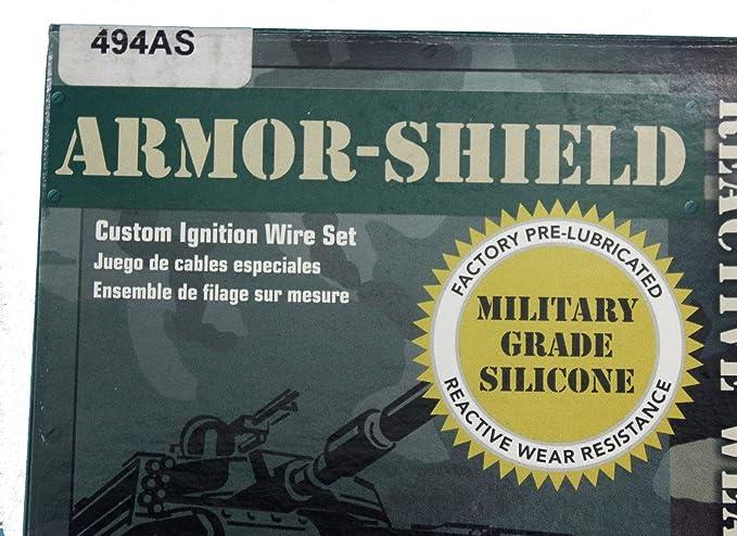 Amazon.com: Ford Festiva Spark Plug Wires Set Pro Tech Armor Shield Made in USA: Automotive