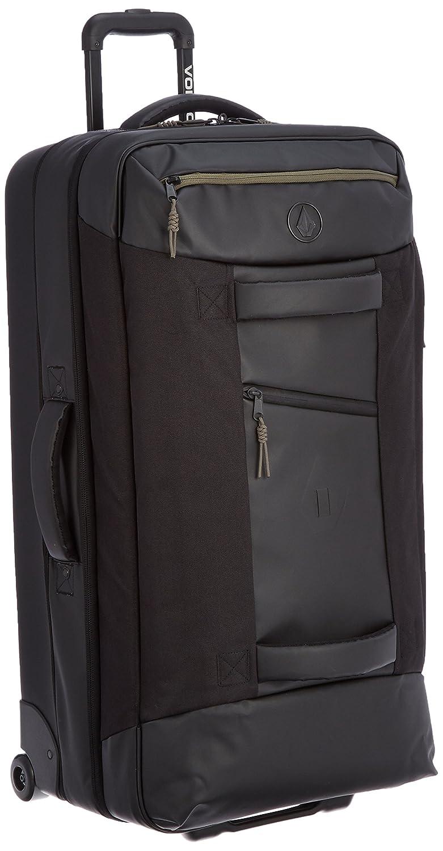 [ボルコム] キャリーバッグ 118L ( 大容量 軽量 モデル ) [ D6541502 / Globetrotter Luggage ] ソフト キャリーケース D6541502 B0170143D6ブラック
