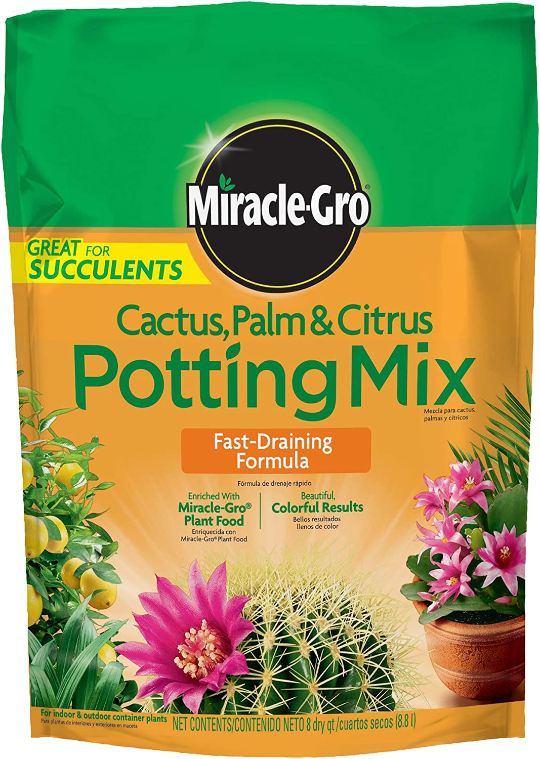 Miracle-Gro Cactus, Palm & Citrus Potting Mix