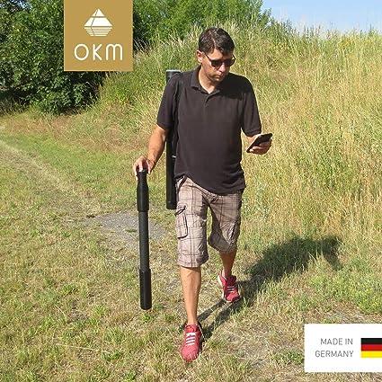 OKM Fusion Light - Detector de metales y escáner de suelo 3D: Amazon.es: Bricolaje y herramientas