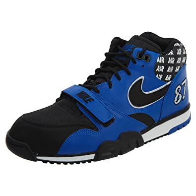 huge selection of e11ba 0bc1e Nike Air Trainer 1 Mid SOA Men s Shoes Hyper Cobalt Black White aq5099-