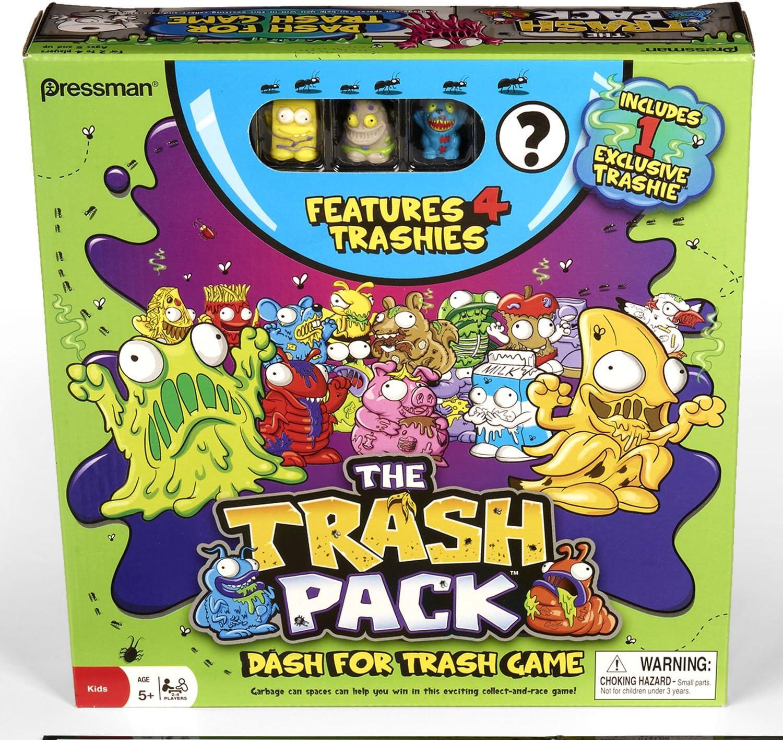 The Trash Pack Dash for Trash Game by Pressman Toy: Amazon.es ...
