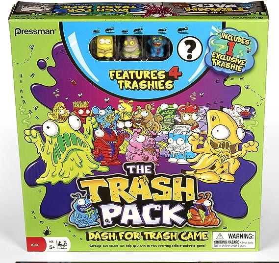 The Trash Pack Dash for Trash Game by Pressman Toy: Amazon.es: Juguetes y juegos