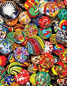 Springbok's 500 Piece Jigsaw Puzzle Marble Madness