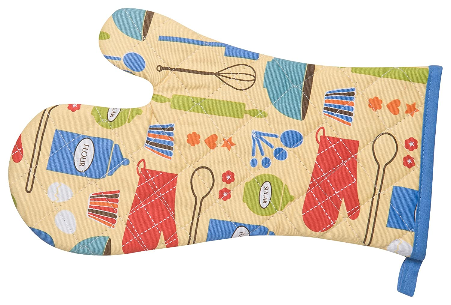 Kitchen Style by Now Designs Basic Mitts, Measure and Mix, Set of 2