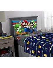 Nintendo Super Mario Trifecta Fun Individual Hoja Set