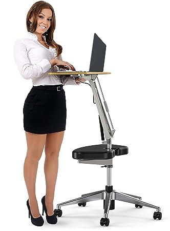 Amazoncom RoomyRoc Mobile Laptop DeskCartStand with Adjustable