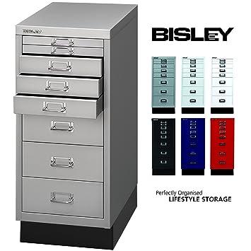 BISLEY Schubladenschrank 29 aus Metall | Schrank mit 8 Schubladen ...