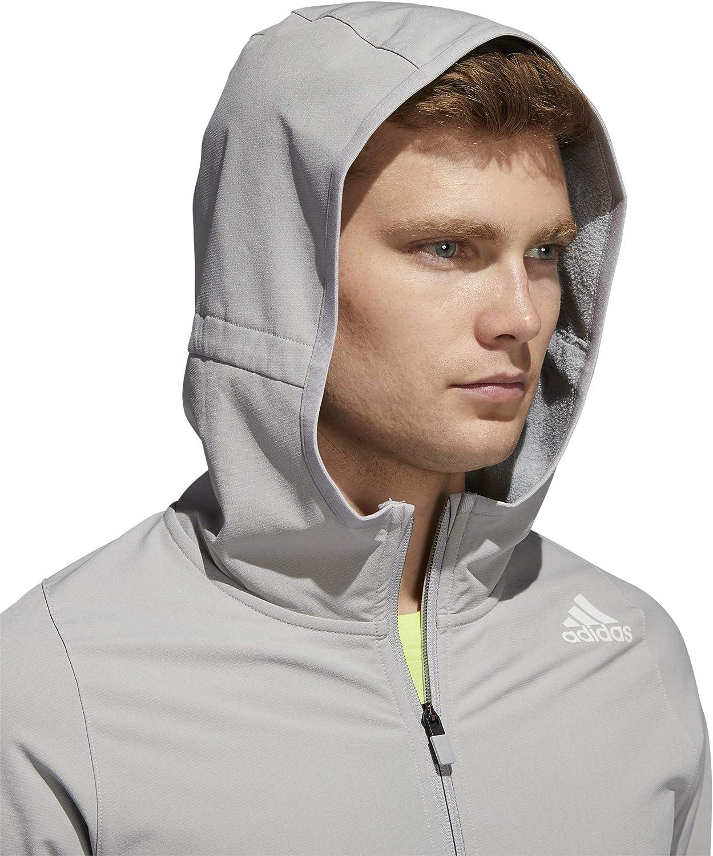 adidas Herren FL DWR Cw HDY Sweatshirt Grpumg