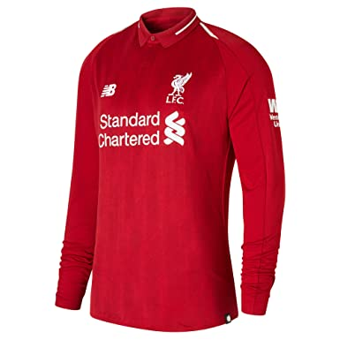 6977f93bf9a Liverpool FC 18/19 Home L/S Football Shirt - Red - Size XL: Amazon.co.uk:  Clothing