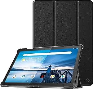"Fintie Case for Lenovo Smart Tab M10 HD / M10, Lightweight Slim Shell Stand Cover for Lenovo Tab M10 HD TB-X505F / M10 TB-X605F 10.1"" Tablet, Auto Wake/Sleep, Black"