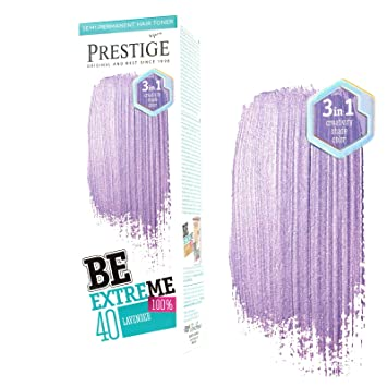 Be Extreme Tóner Semi Permanente para Pelo, Color Violeta 40 - Sin Amoniaco, Sin Parabenos y PPD: Amazon.es: Belleza