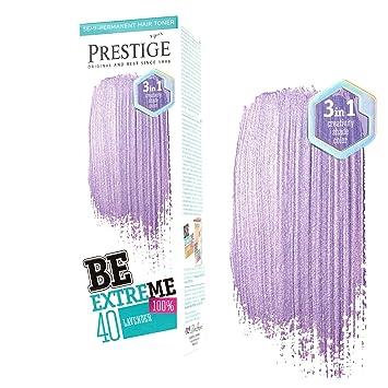 Be Extreme Tóner Semi Permanente para Pelo, Color Violeta 40 - Sin Amoniaco, Sin Parabenos y PPD: Amazon.es: Belleza