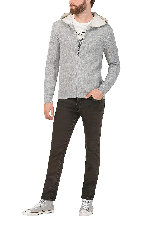 Timezone Waffle Knit Jacket Chaqueta Punto para Hombre