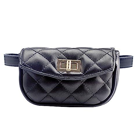 2e3ecca202b7 CMK TRENDY KIDS Stylish Quilted Fanny Pack for Little Girls Toddler Purse  Cute Belt Bag