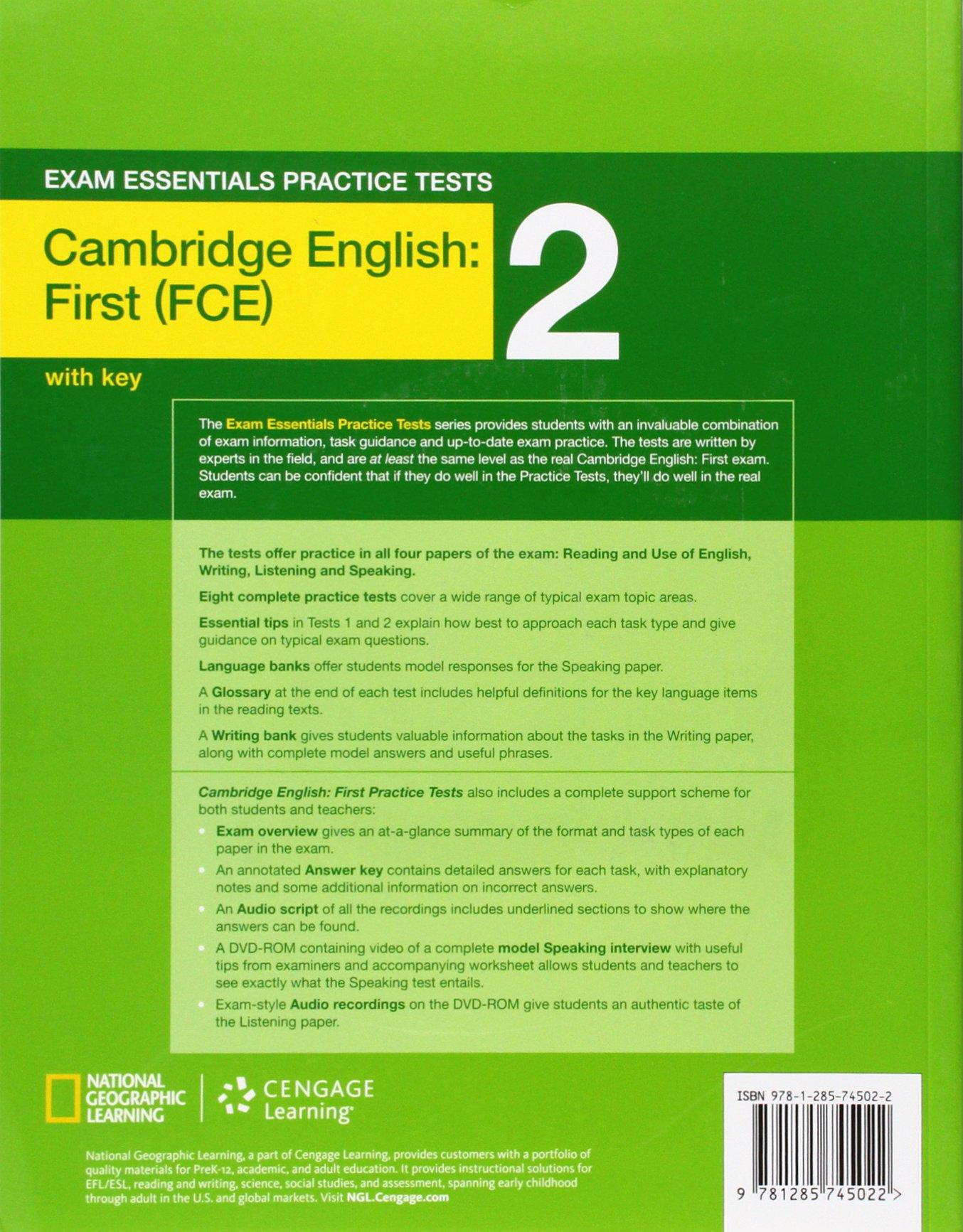 Exam essentials cambridge first practice tests 2 w key dvd rom amazon co uk helen chilton helen tiliouine books