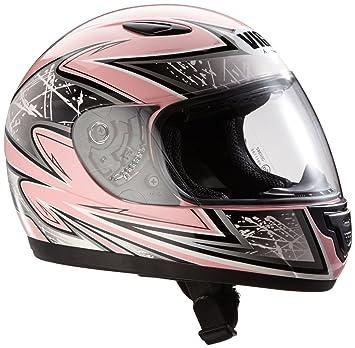 Protectwear Casco de moto de los niños color de rosa SA03-PK Tamaño 3XS (