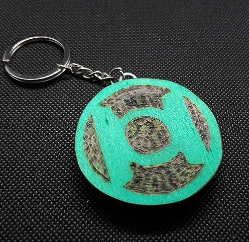 Llavero Linterna Verde: Amazon.es: Handmade