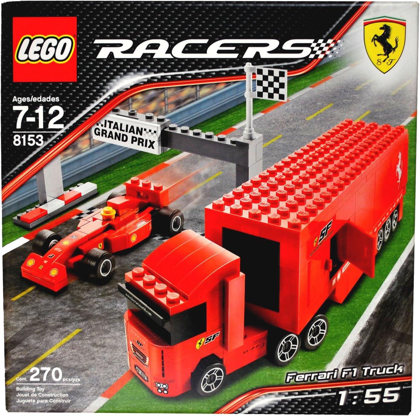 Amazon Com Lego Racers Ferrari F1 Truck Toys Games