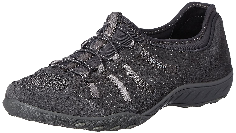 Skechers Big Damen Breathe-Easy Big Skechers Bucks Sneakers Grau (Ccl) c77723