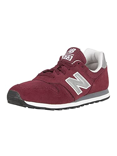 new balance men's 373 maroon